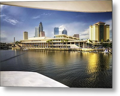 Cruising To Tampa In Hdr Metal Print by Michael White