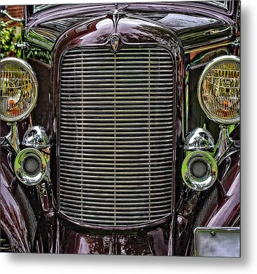 Crusin' With A 32 Desoto Metal Print by Thom Zehrfeld