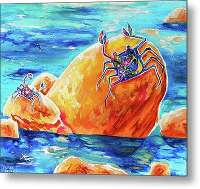 Crustacean Duo  Metal Print
