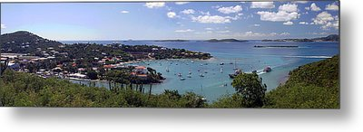 Cruz Bay Metal Print by Gary Lobdell