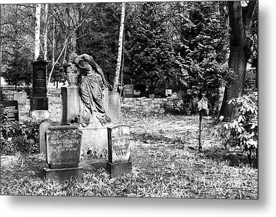 Crying For The Dead Metal Print by John Rizzuto