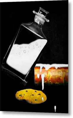 Metal Print featuring the photograph Crying Over Spilled Milk by Diana Angstadt