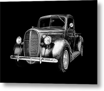 Metal Print featuring the photograph Crystal 38 Ford Pickup by Gary Smith