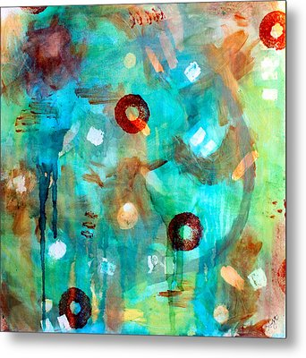 Crystal Blue Persuasion Metal Print by Shelley Graham Turner