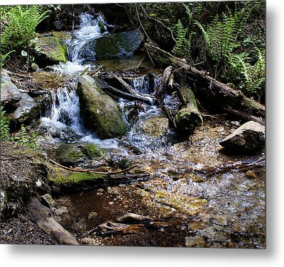 Metal Print featuring the photograph Crystal Clear Creek by Ben Upham III