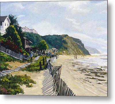 Crystal Cove Afternoon Metal Print by Mark Lunde
