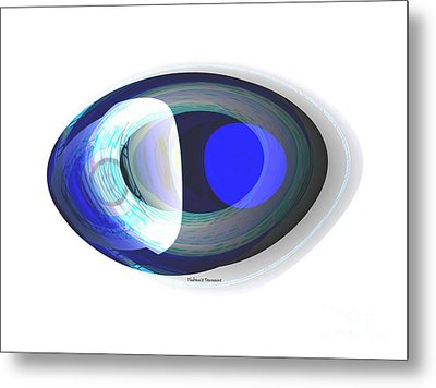 Crystal Eye Metal Print by Thibault Toussaint
