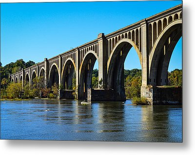 Csx A-line Bridge Metal Print