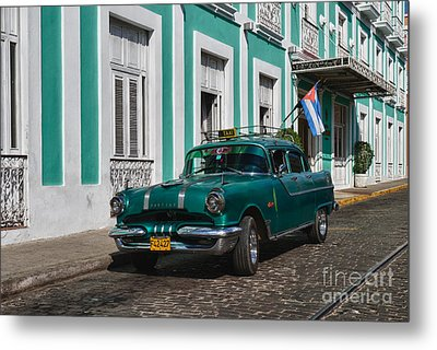 Metal Print featuring the photograph Cuba Cars II by Juergen Klust
