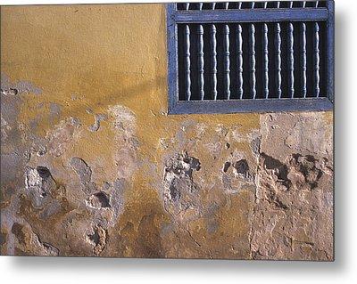 Cuban Wall And Window Metal Print