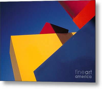 Metal Print featuring the photograph Cubic by Sandro Rossi