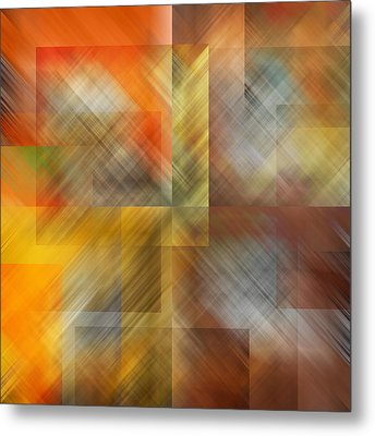 Metal Print featuring the photograph Cubic Space by Mark Greenberg