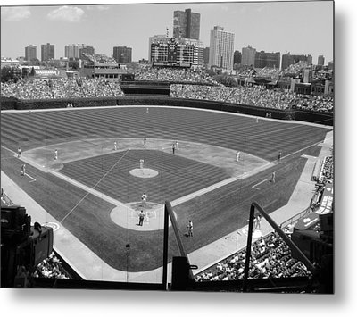 Cubs Game...2009 Metal Print