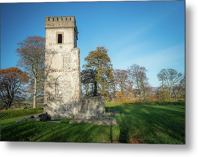 Cuchulains Castle Metal Print by Marty Garland