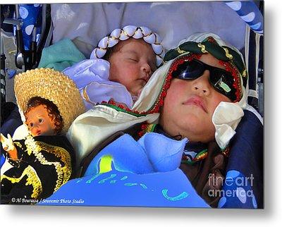 Cuenca Kids 703 Metal Print