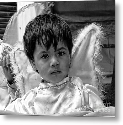 Metal Print featuring the photograph Cuenca Kids 893 by Al Bourassa