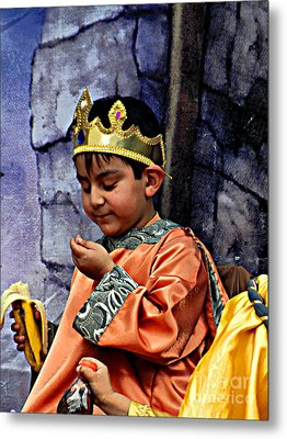 Metal Print featuring the photograph Cuenca Kids 903 by Al Bourassa