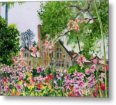 Culinary Institute At Greystone Metal Print