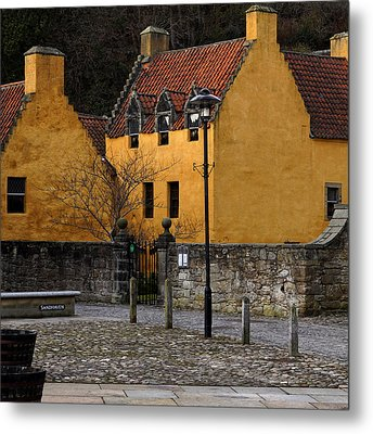 Metal Print featuring the photograph Culross by Jeremy Lavender Photography