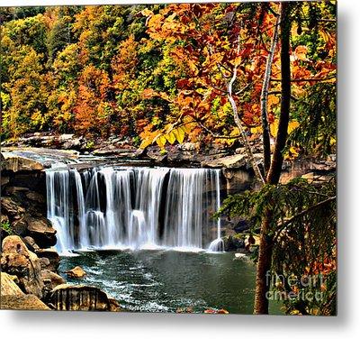 Cumberland Falls Metal Print by Ken Frischkorn