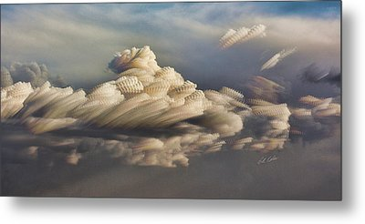 Cupcake In The Cloud Metal Print