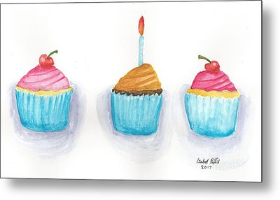 Cupcakes?  Metal Print by Isabel Proffit