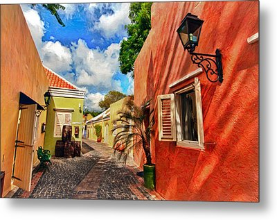 Curacao Colours Metal Print