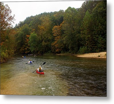 Current River 3 Metal Print by Marty Koch