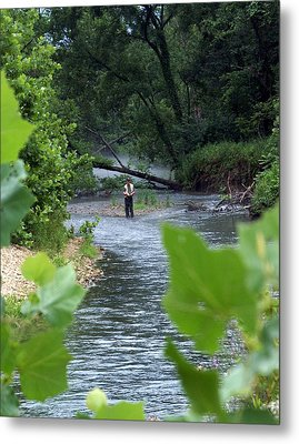 Current River 5 Metal Print by Marty Koch