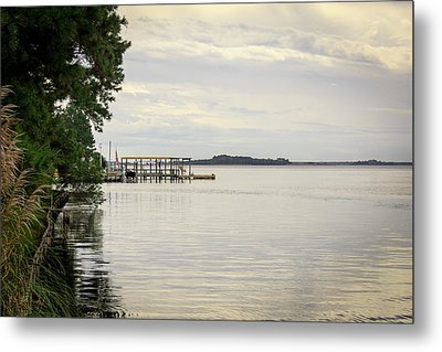 Currituck Sound 2 Metal Print