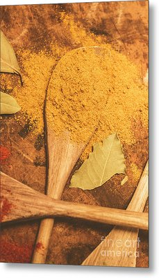Curry Powder Spice Metal Print by Jorgo Photography - Wall Art Gallery