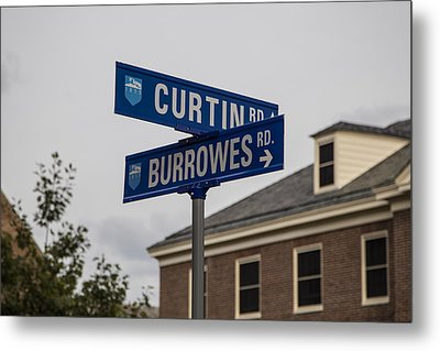 Curtin And Burrowes Penn State  Metal Print by John McGraw