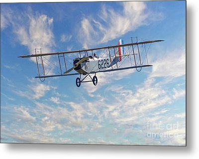 Curtiss Jn-4h Biplane Metal Print