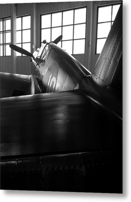 Metal Print featuring the photograph Curtiss P-40 by Rebecca Davis