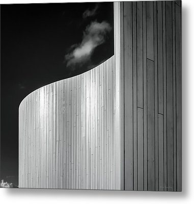 Curve Four Metal Print by Wim Lanclus