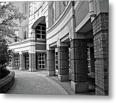 Curves And Crevices Metal Print by Mary Ann Weger