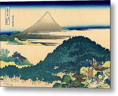 Cushion Pine At Aoyama, Edo, Circa 1830 Metal Print