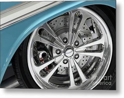Custom Car Wheel Metal Print by Oleksiy Maksymenko