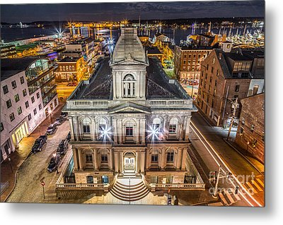 Custom House Metal Print by Benjamin Williamson