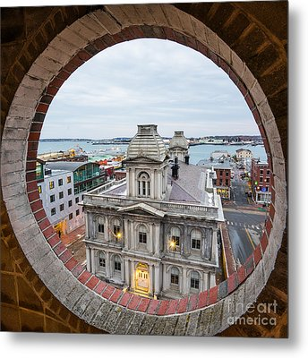 Custom House View Metal Print