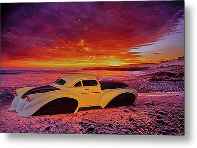 Metal Print featuring the photograph Custom Lead Sled by Louis Ferreira
