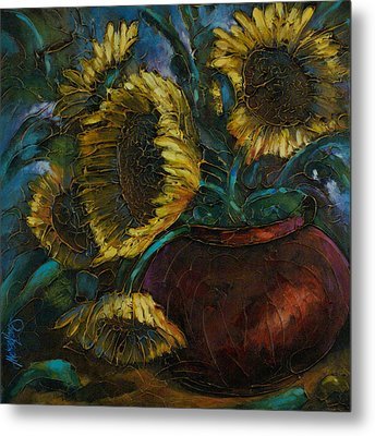 Cut Short Metal Print by Michael Lang