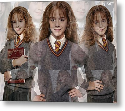 Cute Hermione Granger Metal Print by F S