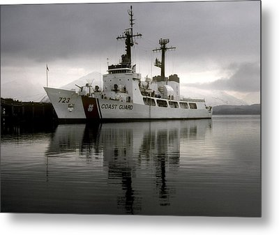 Cutter In Alaska Metal Print