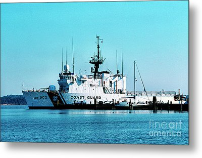 Cutter Tampa Metal Print by Thomas R Fletcher
