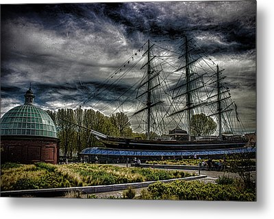 Cutty Sark Metal Print by Martin Newman