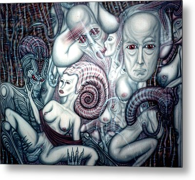 CX Metal Print by Leigh Odom