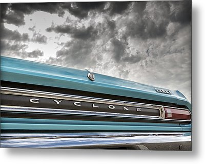 Cyclone Metal Print by Caitlyn Grasso