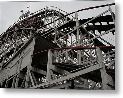Cyclone Tunnel Metal Print by Christopher Kirby