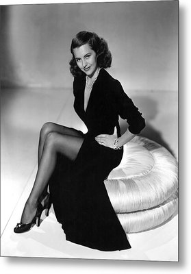 Cyd Charisse, Mgm Publicity Shot, 1949 Metal Print by Everett